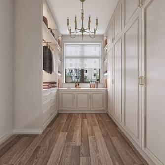 豪华型120平米三室两厅欧式风格衣帽间装修案例