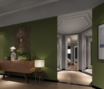 20万以上140平米公装风格客厅装修效果图