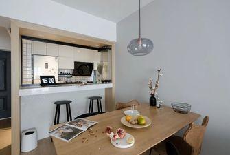 经济型70平米一室两厅现代简约风格餐厅图片