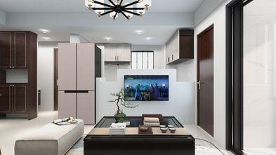 50平米小户型中式风格客厅效果图