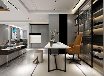 豪华型140平米三室三厅现代简约风格书房装修案例