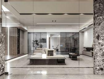 140平米三室两厅现代简约风格影音室图片大全