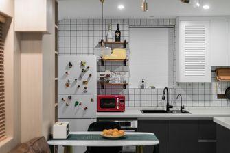 60平米公寓英伦风格厨房设计图