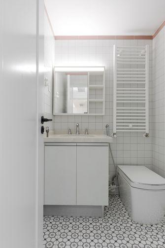 富裕型四室一厅北欧风格卫生间设计图