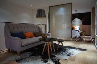经济型80平米现代简约风格客厅装修图片大全