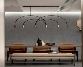 100平米三欧式风格餐厅图片