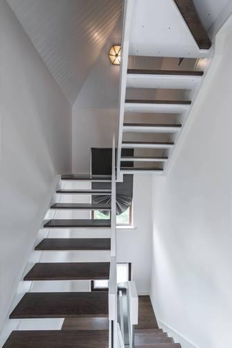 豪华型130平米三现代简约风格走廊设计图