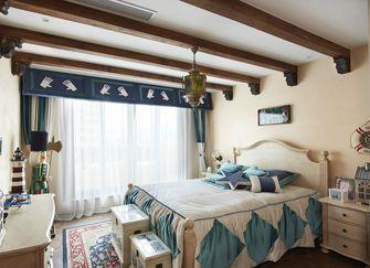富裕型140平米别墅东南亚风格卧室装修效果图