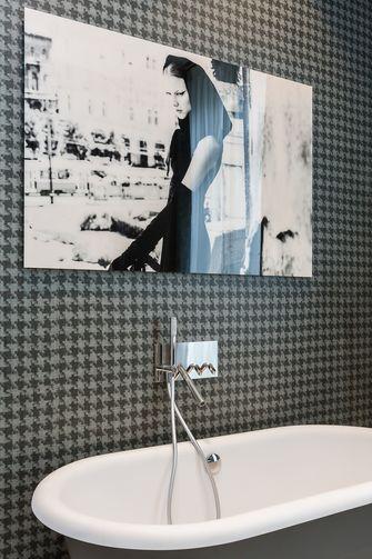 豪华型140平米三室一厅法式风格卫生间图片大全
