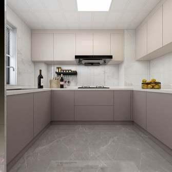 豪华型130平米四室一厅现代简约风格厨房图
