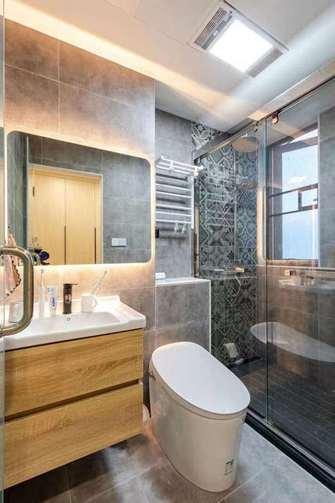 20万以上140平米四室两厅日式风格卫生间图片大全