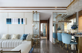 经济型120平米三室一厅地中海风格客厅设计图