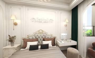 20万以上140平米三室三厅美式风格卧室装修案例