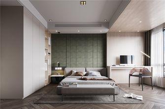 富裕型120平米三室一厅工业风风格卧室效果图
