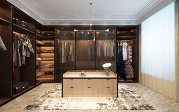 豪华型120平米三室两厅现代简约风格衣帽间装修图片大全