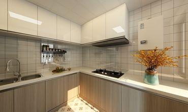 90平米三日式风格厨房图