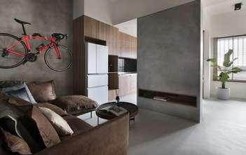 富裕型40平米小户型工业风风格客厅装修案例