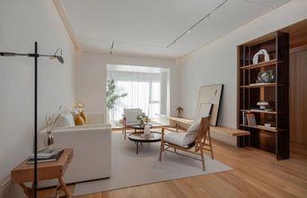 富裕型110平米三室一厅日式风格客厅设计图