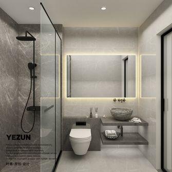经济型60平米公寓现代简约风格卫生间图片大全