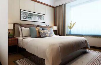富裕型110平米三中式风格卧室欣赏图