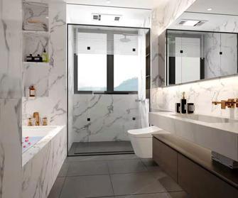富裕型140平米复式轻奢风格卫生间装修案例