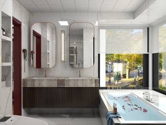 经济型140平米四室四厅中式风格卫生间装修效果图