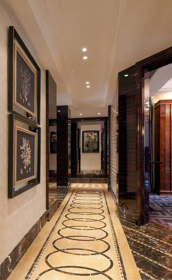 豪华型140平米四室两厅新古典风格走廊图片