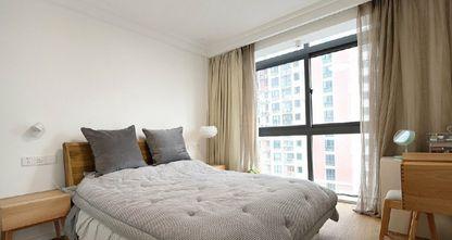 90平米日式风格卧室效果图