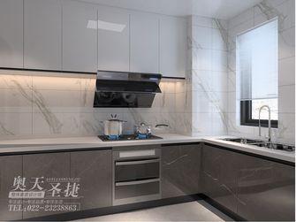 富裕型120平米四室一厅现代简约风格厨房图片