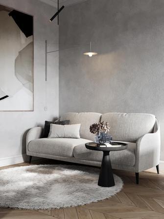 70平米三室两厅新古典风格衣帽间装修效果图