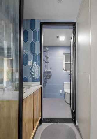 10-15万三室一厅北欧风格卫生间图片