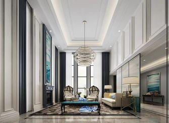 140平米三室一厅美式风格客厅欣赏图