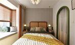 富裕型三室一厅新古典风格卧室设计图