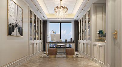 豪华型140平米复式美式风格书房欣赏图