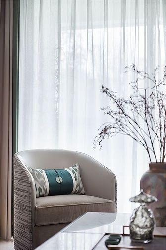 富裕型120平米三室两厅新古典风格阳台装修效果图