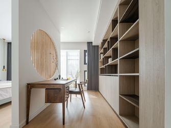 15-20万140平米三室一厅日式风格书房装修效果图