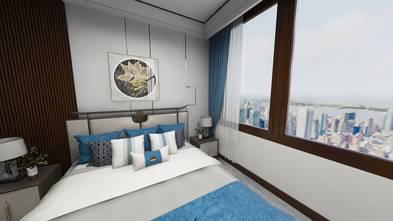 富裕型90平米中式风格卧室图