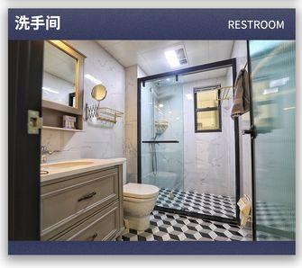 富裕型100平米美式风格卫生间装修案例