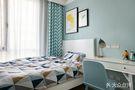 15-20万80平米三室一厅现代简约风格青少年房图