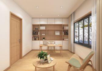 5-10万90平米日式风格书房欣赏图