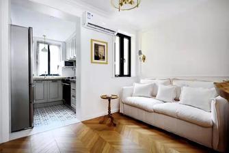 5-10万40平米小户型法式风格客厅图