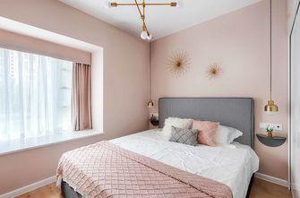 富裕型80平米三室一厅北欧风格卧室装修效果图