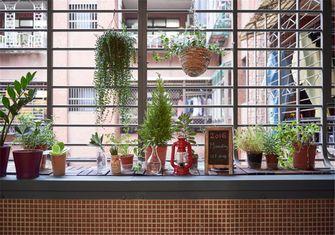 20万以上50平米公寓北欧风格阳台欣赏图