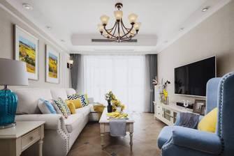 豪华型140平米三室一厅公装风格客厅装修图片大全