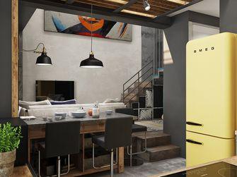 豪华型70平米复式英伦风格餐厅装修效果图