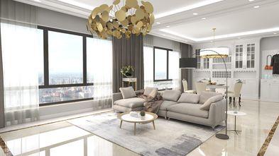 100平米欧式风格客厅效果图