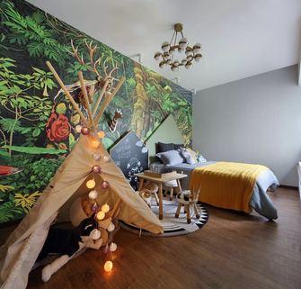 富裕型90平米三室两厅轻奢风格卧室效果图