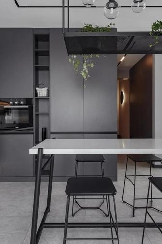 5-10万60平米一室一厅工业风风格餐厅图
