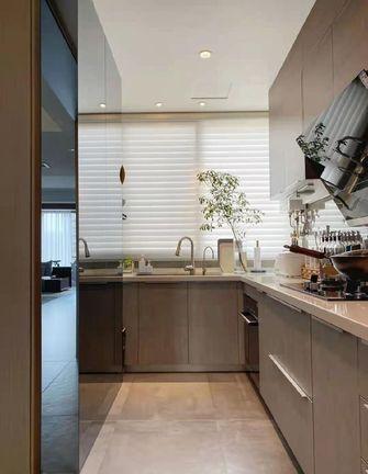 10-15万120平米三室两厅现代简约风格厨房装修案例
