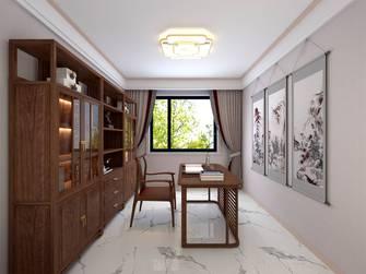 经济型140平米四中式风格书房图片